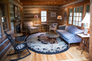 cabin sitting area