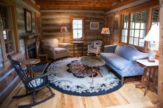 cabin sitting area