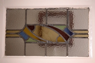 leaded glass detail