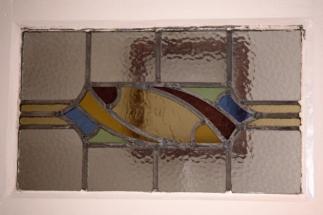 leaded glass detail