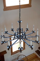 chandelier in main sitting area