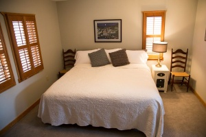 Shenandoah Room - one of the rooms at River Bluff Farm Bed and Breakfast